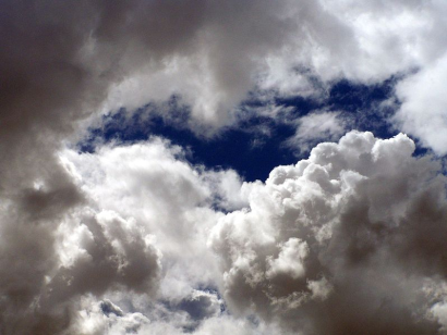 Acknowledging clouds of feeling allows the blue sky to re-emerge......Photo courtesy of Wikimedia Commons.