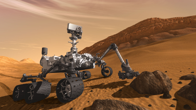 Curiosity: A great name for a Mars rover that sends back new information.