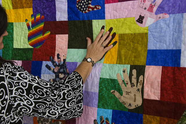 Diverse patches make for a beautiful quilt......Courtesy of Wikimedia Commons.