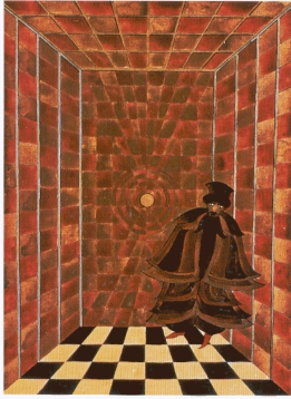 Carl Jung's painting of his own Shadow.