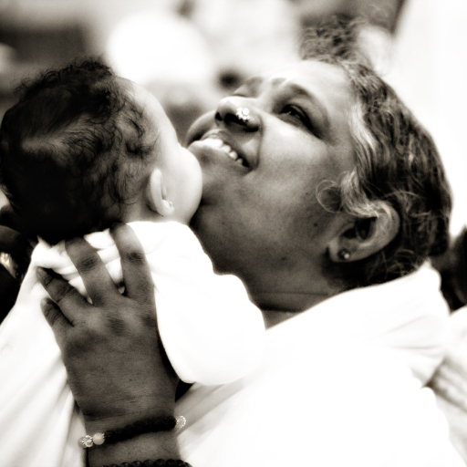 Amma's celebrations would not qualify as restrained. Photo courtesy of WIkimedia Commons.