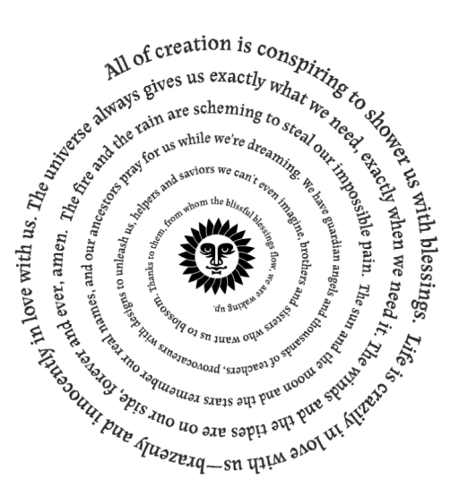 Rob Brezsny's Pronoia: The world conspires--breathes with us--on our behalf.