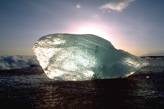 We can get frozen in our identities, unable to flow with the larger tides that guide us.  Image courtesy of Wikipedia.