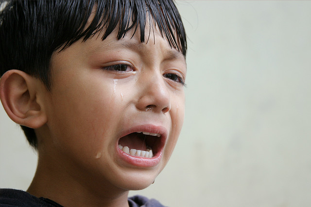 Open emotion like this changes things. Photo courtesy of Flickr.